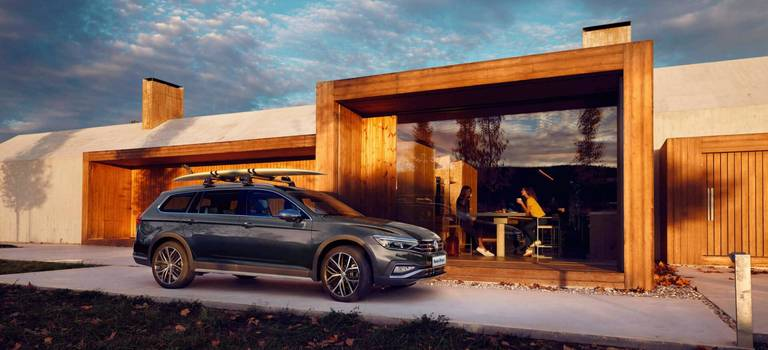 Volkswagen Passat Alltrack— уверенность даже вусловиях бездорожья!