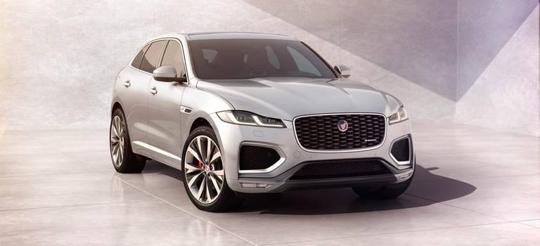 Jaguar модернизировал кроссовер F-Pace идобавил ему новую версию