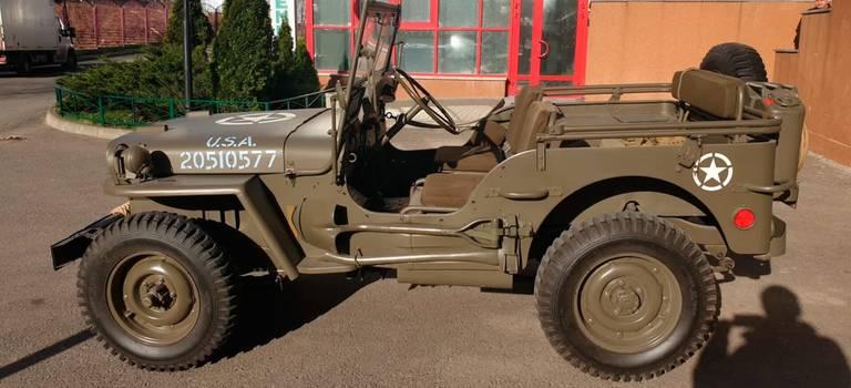 Военный американский внедорожник 1944 года вМоскве продают за ₽3,7 млн.