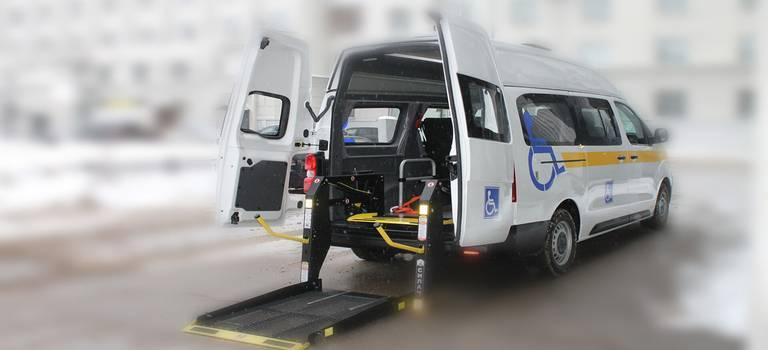 Peugeot Expert запускает социальную модель для перевозки маломобильных пассажиров