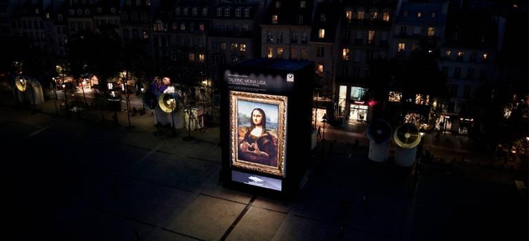 «Привет, Мона Лиза!» -новый интеллектуальный персональный ассистент BMW оживил самую знаменитую картину вмире.