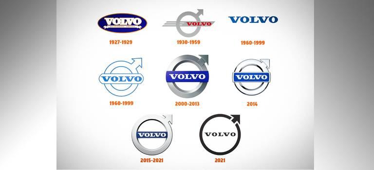 Volvo обновляет фирменный логотип