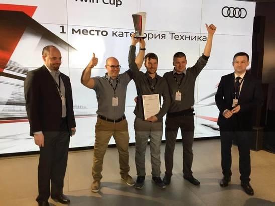Ауди Центр Екатеринбург иАЦ Космонавтов втройке лидеров национального финала Audi Twin Cup