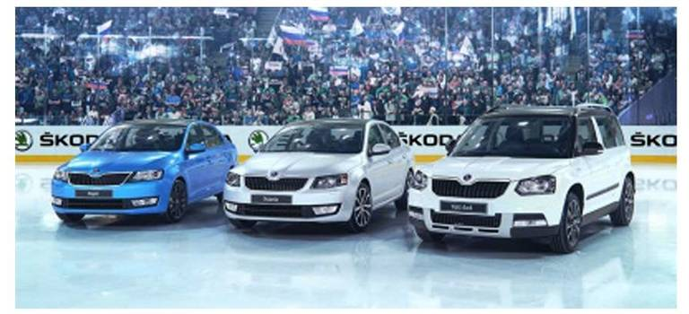 ŠKODA Hockey Edition вЕвропа Авто