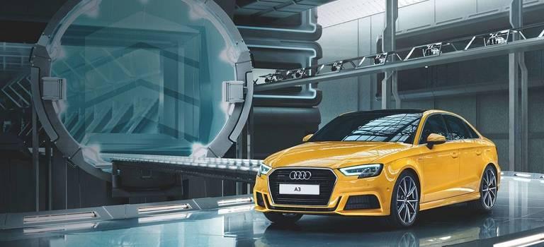Новый Audi A3. Приглашаем 10сентября наДень Открытых Дверей вАуди Центр Екатеринбург