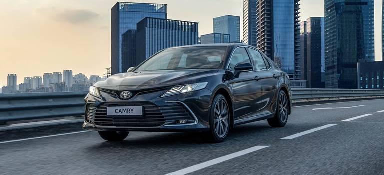 Прием заказов наобновленную Toyota Camry