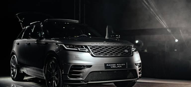 Презентация нового Range Rover Velar