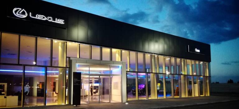 Группа компаний Автоплюс объявляет оботкрытии дилерского центра Лексус-Омск.