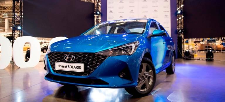 «Хендэ Мотор СНГ» представила обновленный Hyundai Solaris