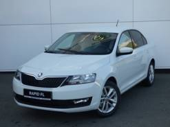 ŠKODA RAPID Лифтбэк 1.6 AT (110 Hp) 2WD AMBITION