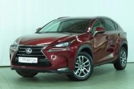 Lexus NX 2015 г. (красный)
