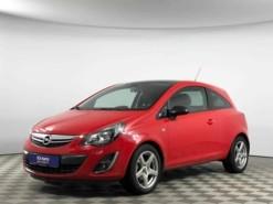 Opel Corsa 2012 г. (красный)