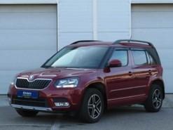 Škoda Yeti 2017 г. (красный)