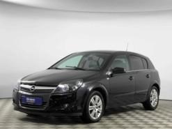 Opel Astra 2007 г. (черный)