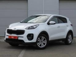 Kia Sportage 2018 г. (белый)