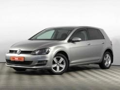 Volkswagen Golf 2014 г. (серебряный)