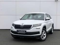 Škoda Kodiaq 2019 г. (белый)
