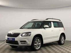 Škoda Yeti 2016 г. (белый)