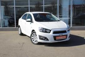 Chevrolet Aveo 2014 г. (белый)