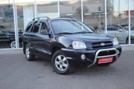 Hyundai Santa FE 2008 г. (черный)