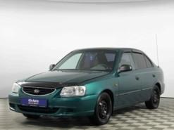 Hyundai Accent 2002 г. (зеленый)
