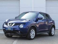Nissan Juke 2014 г. (синий)
