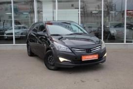 Hyundai Solaris 2015 г. (черный)