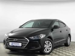 Hyundai Elantra 2016 г. (черный)