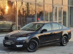 Škoda Octavia 2016 г. (черный)