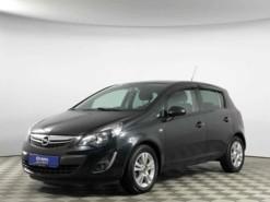 Opel Corsa 2012 г. (черный)