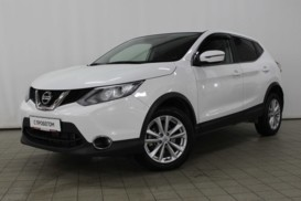 Nissan Qashqai 2018 г. (белый)
