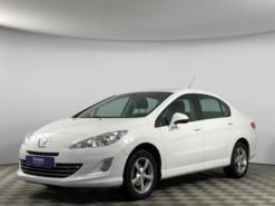 Peugeot 408 2014 г. (белый)