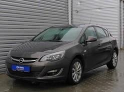 Opel Astra 2012 г. (серый)