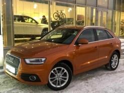 Audi Q3 2014 г. (оранжевый)