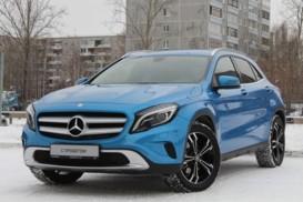 Mercedes-Benz GLA 2014 г. (голубой)