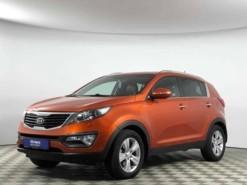 Kia Sportage 2012 г. (оранжевый)