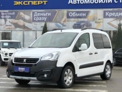 Peugeot Partner 2016 г. (белый)