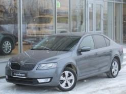 Škoda Octavia 2013 г. (серый)