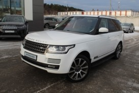 Land Rover Range Rover 2014 г. (белый)