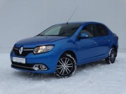 Renault Logan 2016 г. (синий)