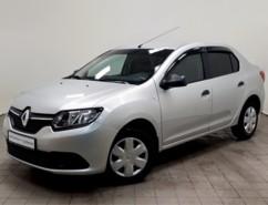 Renault Logan 2015 г. (серебряный)