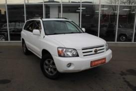 Toyota Highlander 2004 г. (белый)