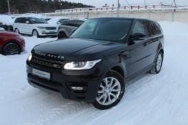 Land Rover Range Rover Sport 2015 г. (черный)