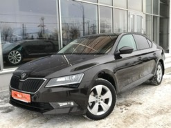 Škoda Superb 2019 г. (коричневый)