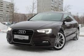 Audi A5 2014 г. (коричневый)