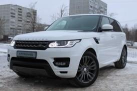 Land Rover Range Rover Sport 2016 г. (белый)