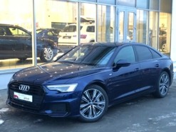 Audi A6 2018 г. (синий)