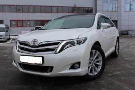 Toyota Venza 2014 г. (белый)