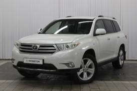Toyota Highlander 2012 г. (белый)