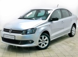 Volkswagen Polo 2014 г. (серебряный)
